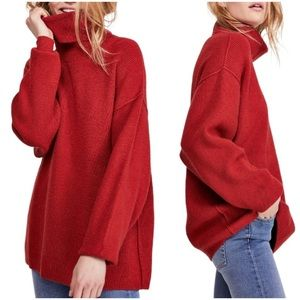 nwt // free people softly structured tunic sweater